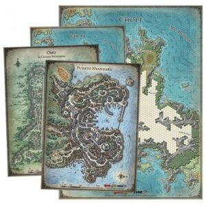 D&D Set de mapas de la Tumba de la Aniquilación
