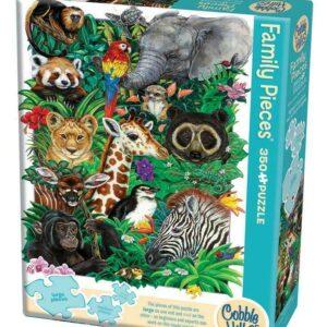Puzzle 350 piezas Safari Babies
