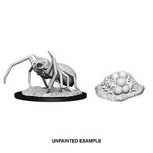 D&D Miniatura Giant Spider & Egg Clutch