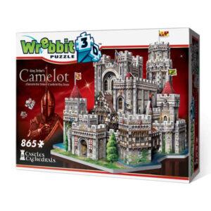 Puzzle 3d Castillo de Camelot 865 piezas