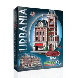 Puzzle Urbania Fire Staion 285 Piezas