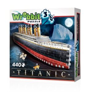 Puzzle 3d Titanic 440 piezas