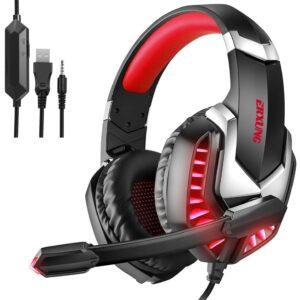 Headphone Erxung J30 Rojo
