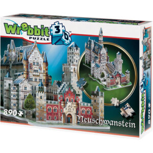 Puzzle 3d Castillo de Neuschwanstein 890 piezas