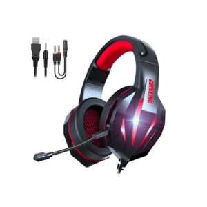 Headphone Erxung J5 Rojo