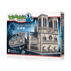 Puzzle 3d Notre-Dame 830 piezas