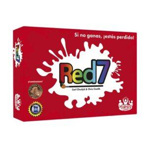 Juego de cartas Red7