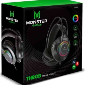 Headset Monster Games Throb