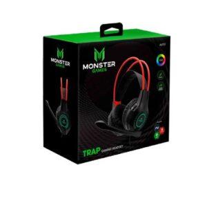 Headset Monster Gamer Trap